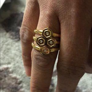 Rebecca Minkoff ring set